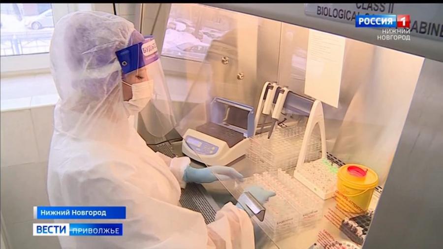 12 августа в Нижегородской области зафиксировано 549 случаев заражения коронавирусом